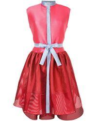 Alexis Mabille - Colourblock Sleeveless Dress - Lyst