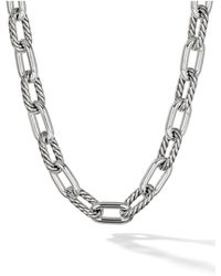 David Yurman Dy Madison Large 13.5mm Necklace - Многоцветный