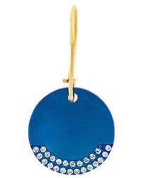 Ileana Makri - Round Plate Earring - Lyst
