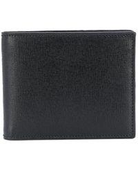 Canali Billfold Logo Wallet - Black