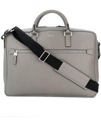 Serapian Large Laptop Bag - Grey