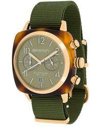 Briston Наручные Часы Clubmaster Classic 40 Мм - Зеленый