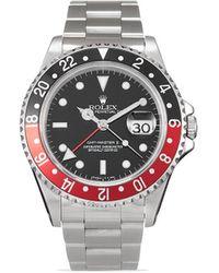 Rolex Наручные Часы Pre-owned Gmt-master Ii 40 Мм 1996-го Года - Черный