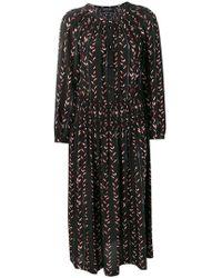 Vanessa Seward Guinguette Dress - Black