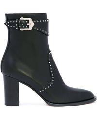 Givenchy Enkellaarzen Met Studs - Zwart