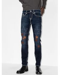 True Religion Rocco Slim-Fit-Jeans - Blau