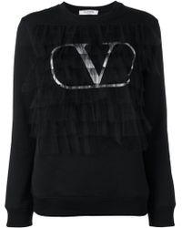Valentino - Go Logo スウェットシャツ - Lyst