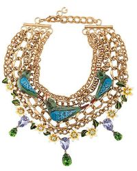 Dolce & Gabbana - Birds Necklace - Lyst