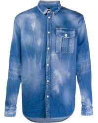 DSquared² Camisa vaquera con botones - Azul