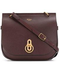 Mulberry Amberley Satchel - Red