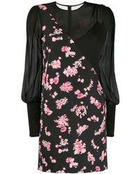 Pinko - フローラルパネル ドレス - Lyst