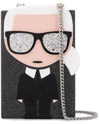 Karl Lagerfeld - K/ikonik Karl Crossbodytas - Lyst