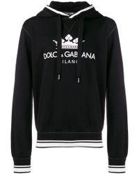 Dolce & Gabbana Felpa con cappuccio - Nero