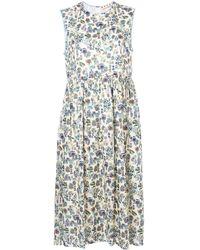 Marni - Printed Smock Dress - Lyst