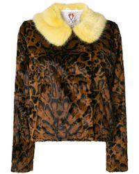 Shrimps   Betsy Leopard-print Jacket   Lyst