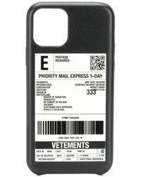 Vetements Чехол Для Iphone 11 Pro Max - Черный
