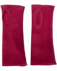 Gala Vingerloze Handschoenen - Rood