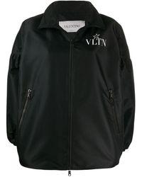 Valentino - ロゴ ボンバージャケット - Lyst