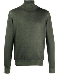 Tagliatore タートルネック セーター - グリーン