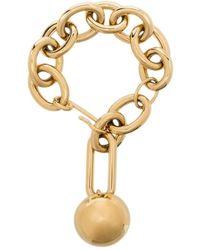 Jil Sander Sphere Chain Bracelet - Metallic