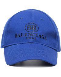 Balenciaga - Gorra con bordado del logo - Lyst