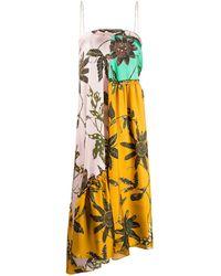 Dorothee Schumacher Платье-бандо Со Вставками - Розовый