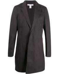 Comme des Garçons Легкая Куртка В Полоску - Серый