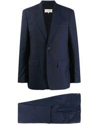 Maison Margiela Blazer classique - Bleu