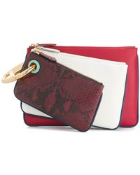 Fendi Triplette Mini Bag - Red