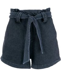 Olympiah - Tie Fastening Shorts - Lyst
