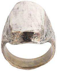 Tobias Wistisen Antieke Ovale Ring - Metallic