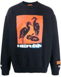 Heron Preston ブラック Heron バード スウェットシャツ