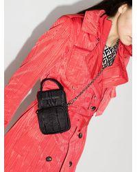 Marine Serre Mini Pocket Bag - ブラック