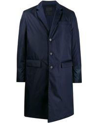 Prada Single-breasted coat - Blu