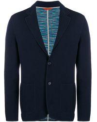 Missoni シングルジャケット - ブルー