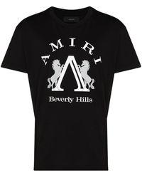 Amiri ビバリーヒルズ コットンtシャツ - ブラック