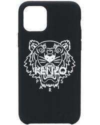 KENZO Чехол Для Iphone 11 Pro С Логотипом - Черный