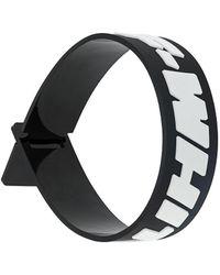Off-White c/o Virgil Abloh '2.0 Industrial' Armband - Schwarz