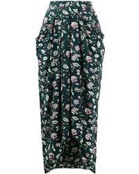 Isabel Marant Ginkinali スカート - グリーン