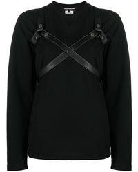 Junya Watanabe Camiseta ajustada - Negro