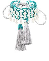 Night Market | Beaded Crochet Choker | Lyst