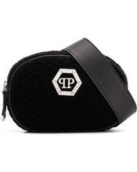 Philipp Plein - Zipped Logo Belt Bag - Lyst