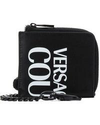 Versace Jeans Couture Мини-кошелек С Логотипом - Черный