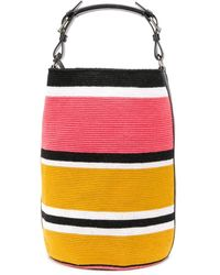 Colville Striped Tote Bag - Yellow