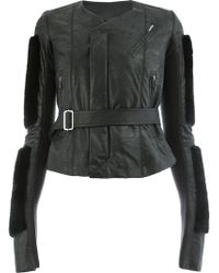 Rick Owens - Belted Jacket - Lyst