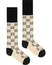 Gucci GG Motif Socks - Multicolor