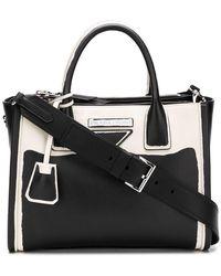 08a879e1ab8a Prada Concept Bag in Black - Lyst