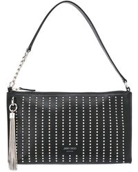 Jimmy Choo Mini Callie Hobo Bag - Black