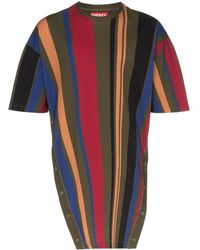 Diesel Red Tag T-shirt a righe - Multicolore