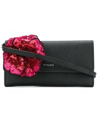 Pinko - Sequin Embroidered Wallet - Lyst